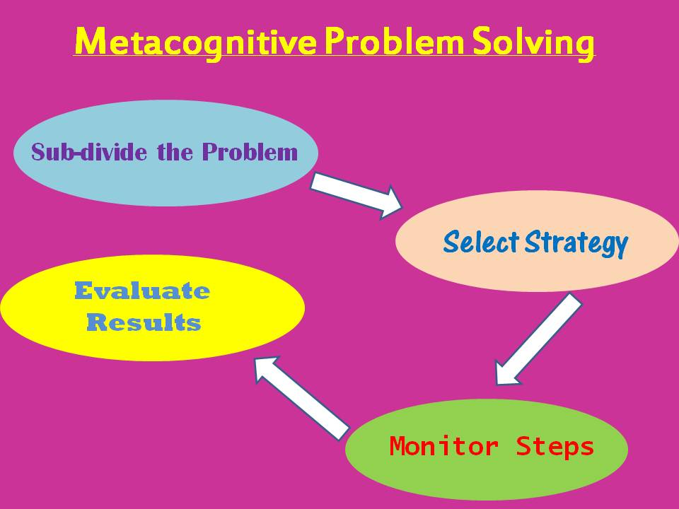 Metacognitive problem-solving