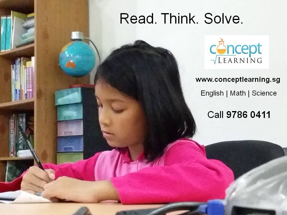 Concept Learning English, Math & Science Tuition