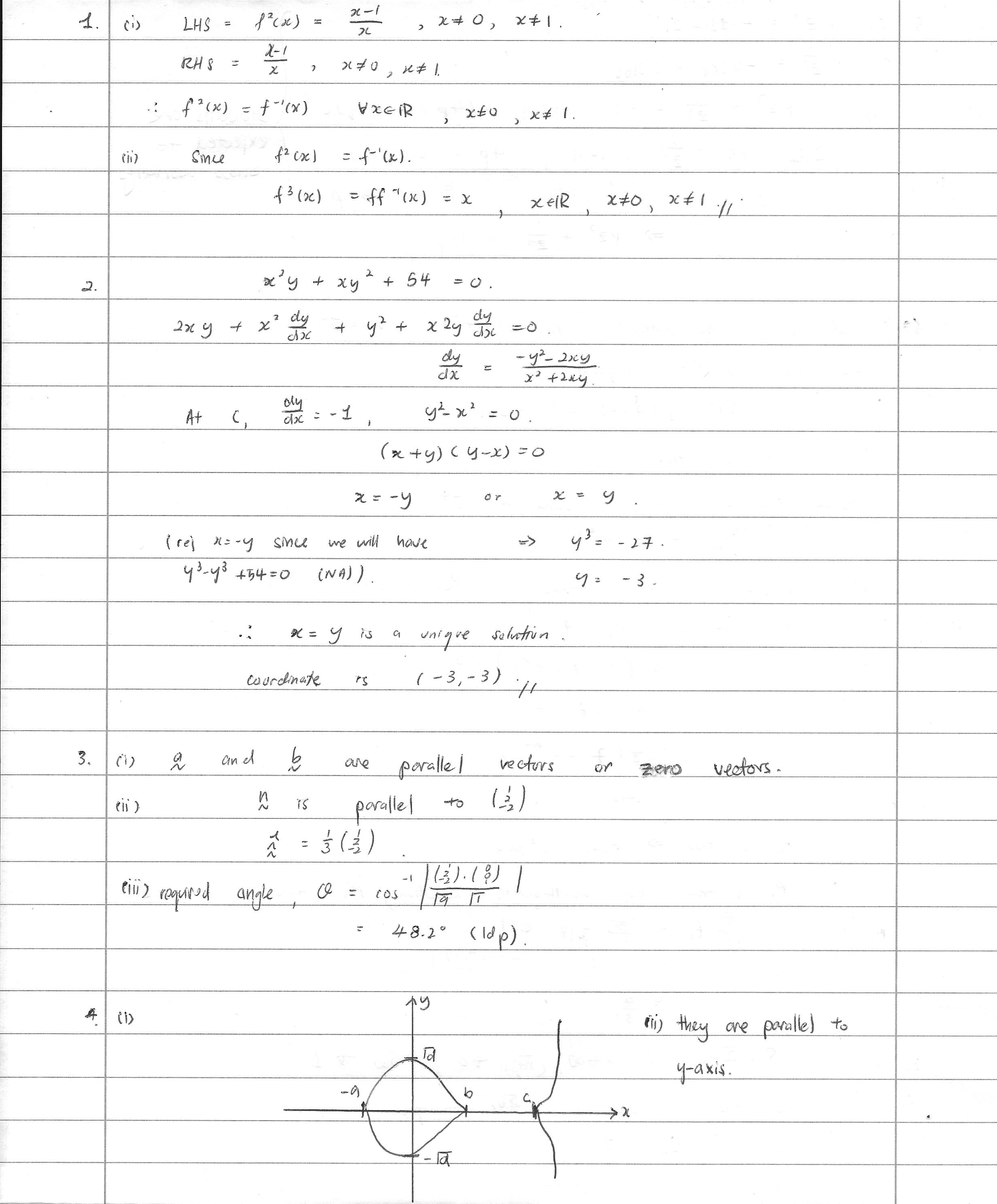 mathematics grade 12 exam papers 2009
