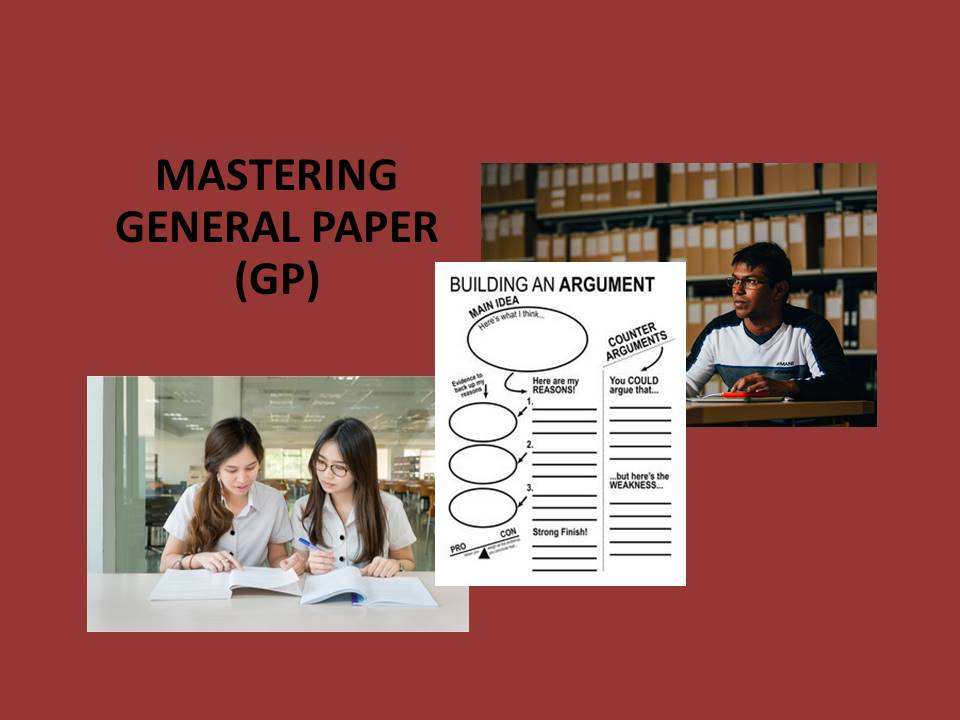 a level gp model essays Check out our top free essays on general paper a level to help you write your own essay.