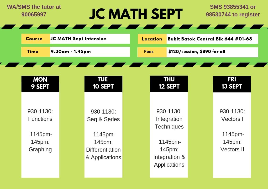 jc math september hols program singapore learner. Black Bedroom Furniture Sets. Home Design Ideas